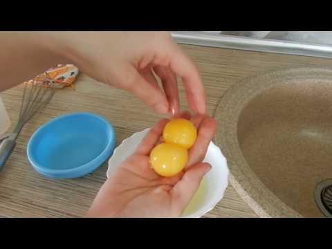 Готовим шампунь из яичных желтков
