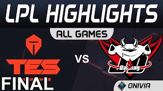 TES vs JDG Highlights ALL GAMES Grand Final LPL Spring Playoffs 2020 TopEsports vs JD Gaming by Oniv