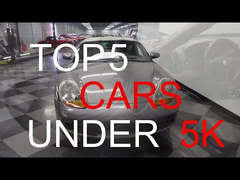 TOP 5 SPORTS CARS THAT YOU CAN BUY UNDER 5K