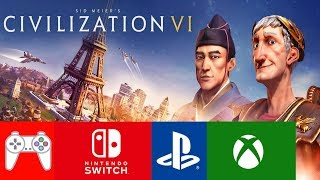 Civilization VI Consoles Multiplayer & Controls News! (Switch, Xbox One, PS4)
