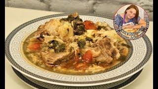 Суп харчо, вкуснейший и очень популярный. Грузинская кухня, готовим без лишних калорий.