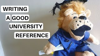 How to Write a UCAS Reference | University Toolbox