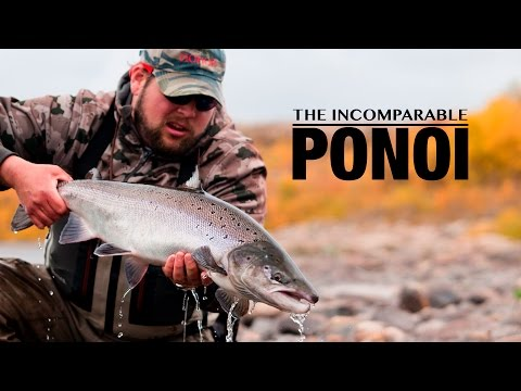The Incomparable Ponoi - Fly fishing for salmon in Russia