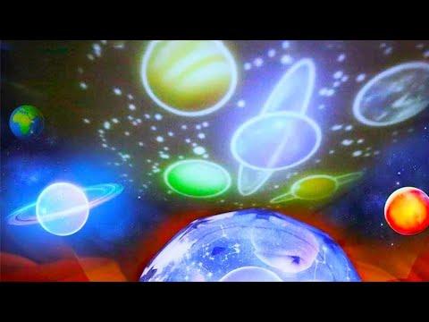 Галактический проектор ночник звездное небо / Galaxy projector night light starry sky