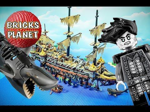 Vidéo LEGO Pirates des Caraïbes 71042 : Silent Mary - Pirates des Caraïbes