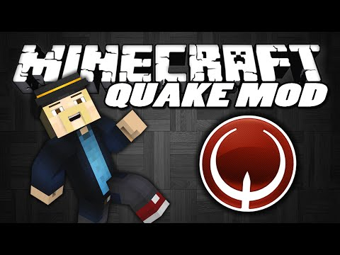 "Minecraft Mods | QUAKE MOD | ""B-Hop, Strafe & Surf In Minecraft"" 