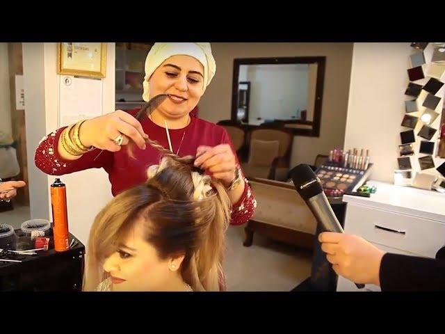 Gelin Topuzu ve Kahverengi Gözlü Gelin Makyajı Nasıl Yapılmalı