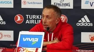 Milan Tomić Pred Meč Crvene Zvezde i Fenerbahčea | SPORT KLUB Košarka