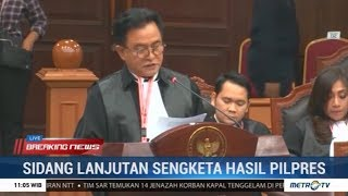 (Full) Jawaban Cerdas Tim Jokowi Terhadap Tudingan Tim Prabowo di Sidang MK Kedua