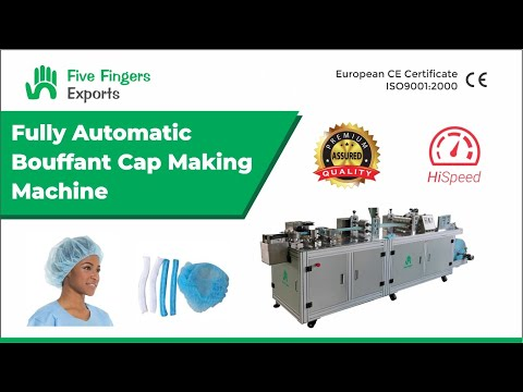Bouffant Cap Making Machine