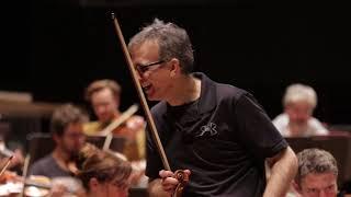 Tchaïkovski - Concerto pour violon - Gil Shaham / Manfred Honeck (répétition)