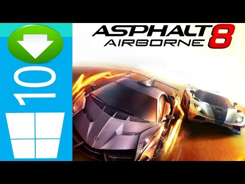 How to Download Car Racing Game on Windows 10/8.1 free | Asphalt 8: Airborne from Windows Store 2015