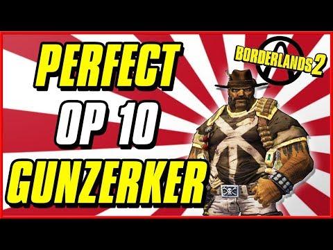 Best OP 10 Gunzerker Build | Borderlands 2 Level 80 Salvador
