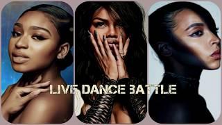 Normani Vs. Tinashe Vs. Teyana Taylor [LIVE DANCE BATTLE]