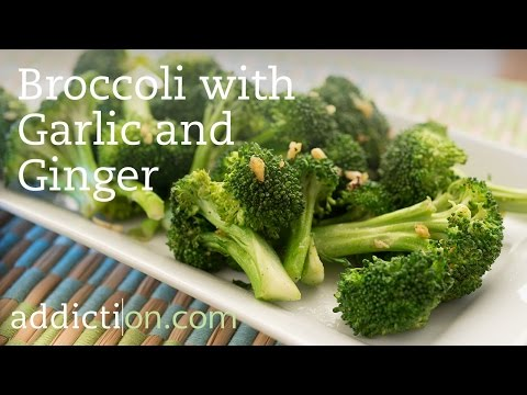 Recipes for Recovery: Broccoli with Garlic and Ginger