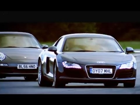 Audi R8 vs Porsche 911 Carrera – Top Gear – BBC