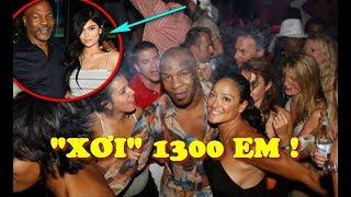 """Mike Tyson Từng Làm CHUYỆN ẤY Với 15 Cô Gái Mỗi Ngày, """"XƠI"""" 1.300 Mỹ Nhân"""