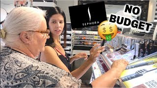 TAKING MY MOM ON A NO BUDGET SEPHORA SHOPPING SPREE... Spoiling my mom