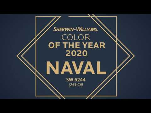 Sherwin-Williams: цвет 2020 года - SW 6244 Naval