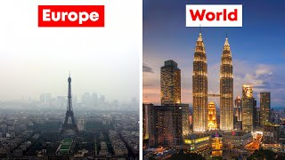 Why Europe doesn't have Megatall Skyscrapers