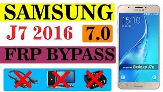 FRP J710F U5 / BYPASS FRP SAMSUNG J7 2016 ANDROID 8 1 0 REV