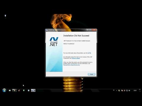 Video Cara mengatasi gagal instal Net framework
