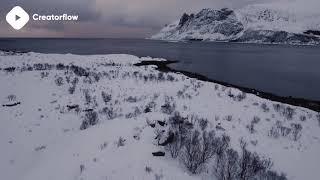 ???? Snowy Mountain Stock Footage | DJI Phantom 4 4K Royalty free stock video footage