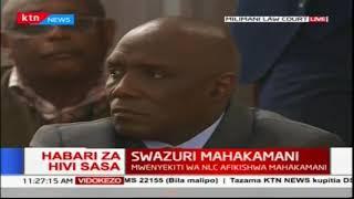 Mwenyekiti wa NLC Mohammed Swazuri afikishwa mahakamani