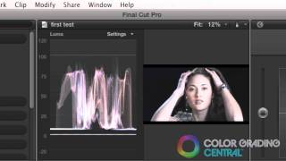 06. Final Cut Pro X Color Correction Tutorial: Setting Dynamic Range And Contrast