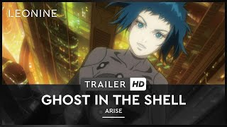 Ghost in the Shell Arise - Border 1: Ghost Pain Film Trailer