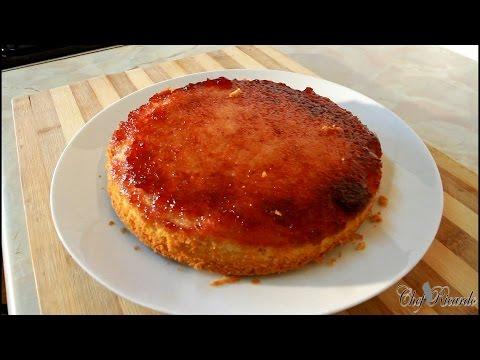 Video Strawberry Jam Sponge Cake Recipe [Jam Sponge Cake ][Caribbean Chef]