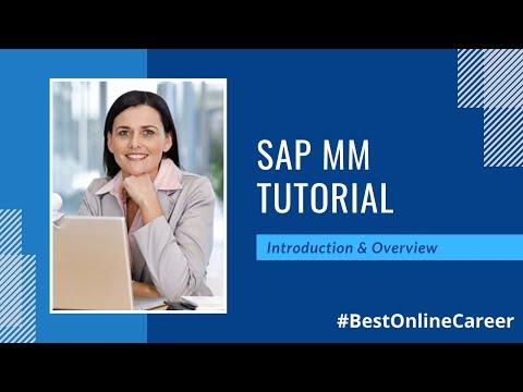 SAP MM Online Training | Material Management Overview: Best ...