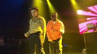 Lil pump- Back ft. Lil Yachty live @the novo los angeles