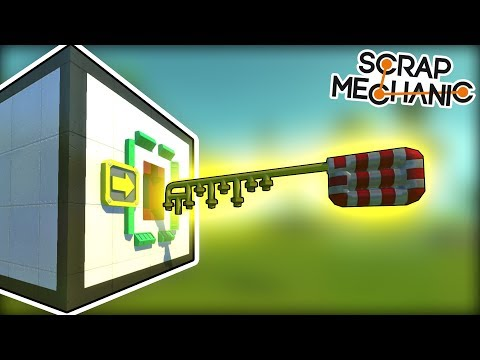 The Workshop Was Locked BUT We Have A KEY! (Scrap Mechanic Gameplay)