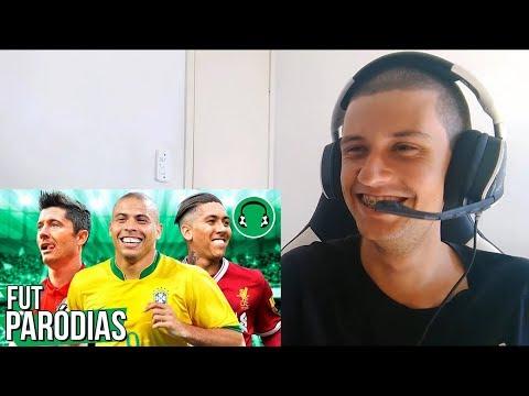 React -♫ ABUSADAMENTE (só gols abusados)| Paródia de Futebol - MC Gustta e MC DG (FutParódias)