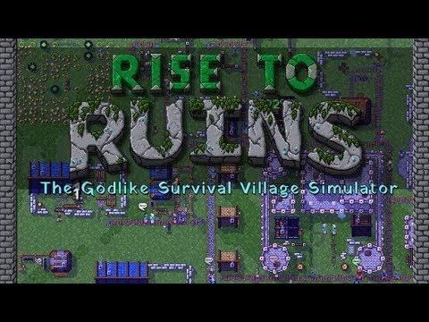 Rise to Ruins Gameplay  Impressions 2018 - Colony Management Meets God Simulator!