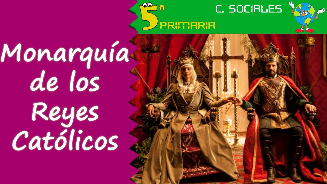 Monarquía de los Reyes Católicos. Sociales, 5º Primaria, Tema 8