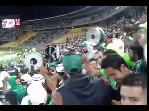 """""""la nacion verdolaga Dale ve, dale ve, dale dale ver,  Nacional 1 vs Tolima 0 (2015)"""" Barra: Nación Verdolaga • Club: Atlético Nacional"""