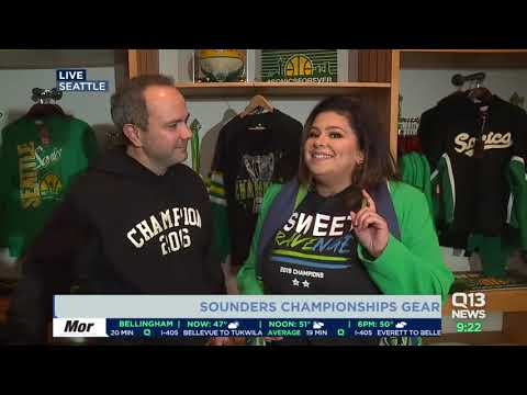 Simply Seattle debuts Sounders FC Championship gear!