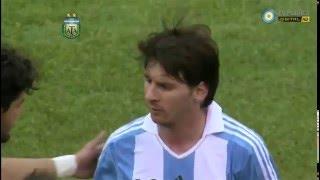 Argentina 4 - Brasil 3 Amistoso 2012