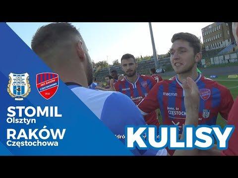 Kulisy meczu Stomil Olsztyn - Raków Częstochowa