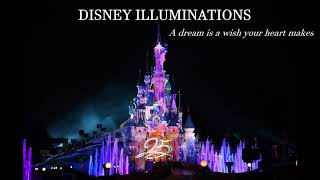 DISNEYLAND PARIS - A DREAM IS A WISH YOUR HEART MAKES