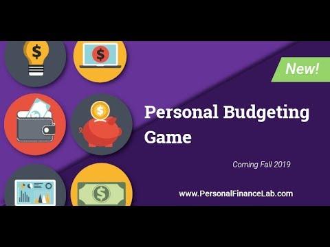 Personal Finance Lab Budget Game Tech Demo
