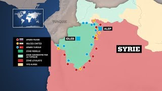 Syrie : Idelb, un objectif commun pour Washington, Moscou, Ankara et Téhéran