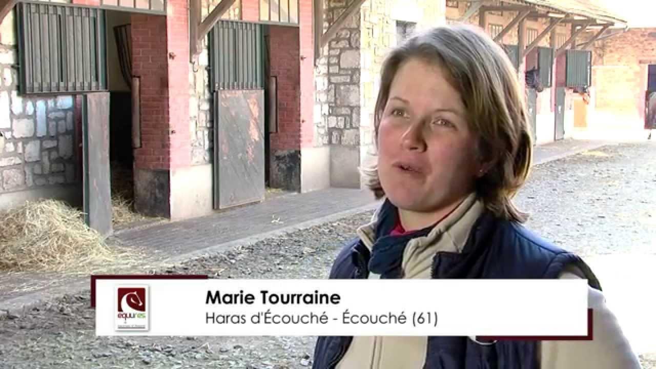 Interview de <strong>Marie Tourraine</strong>.