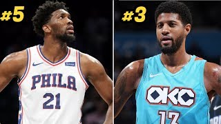 Ranking the Top 10 NBA MVP Candidates at All Star Break