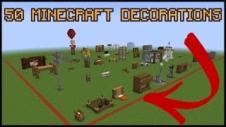 50 Minecraft Decoration Ideas!