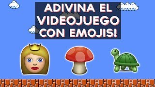 Puedes adivinar estos 10 videojuegos solo viendo los Emojis? Adivina el videojuego con Emojis con este divertido test! ↠↠ ¡No te olvides de suscribirte para no ...