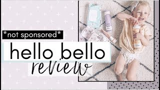 HELLO BELLO Better Than HONEST CO? | Non- Sponsored Review From A Mom Of 3! Diapers + Baby Care