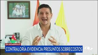 Gobernador de Casanare habla sobre supuestos sobrecostos evidenciados por la Contraloría